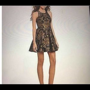 Gianni Bini Dress Size S Avaline Mixed Metal Dream